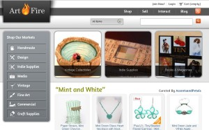 Alternatives to ebay: Artfire