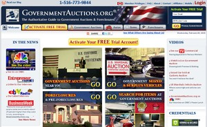 eBay alternatives: GovernmentAuctions.org